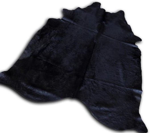 dyed cowhide