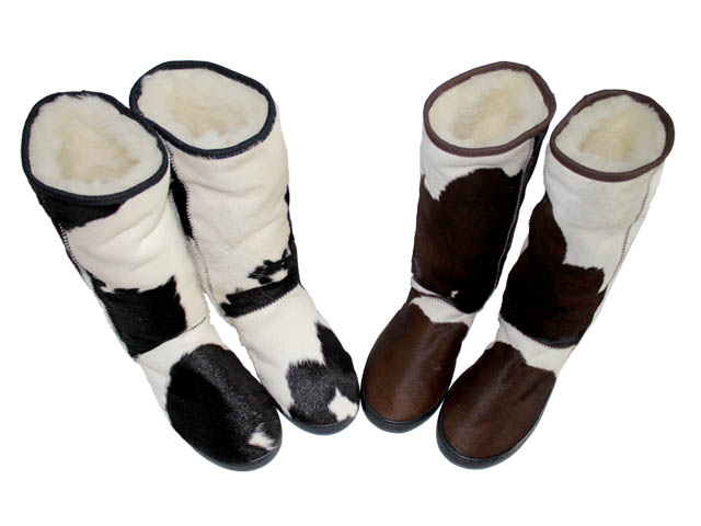 Tall Ugg Boots Calfskin The Cowhide Company