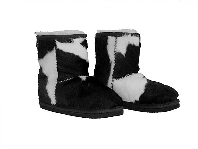 black and white ugg boots