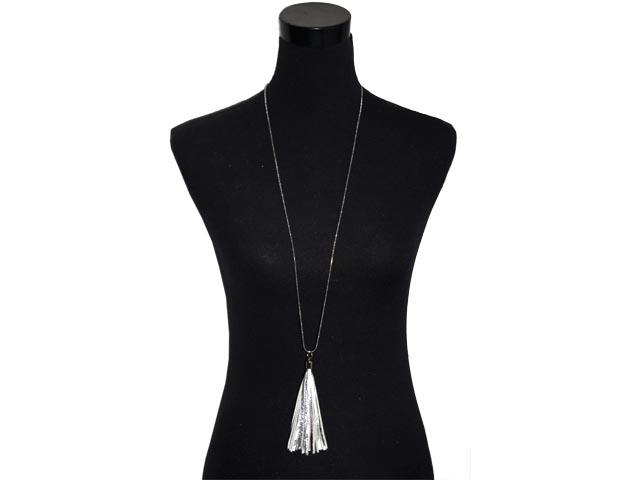 Silver Tassel N/lace