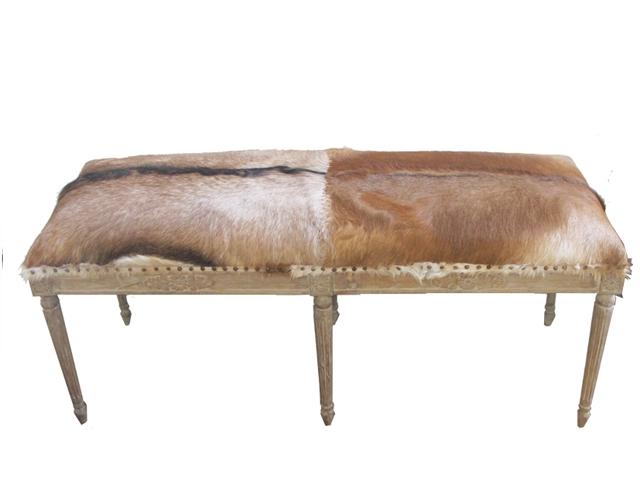 Bench Otto Nat The Cowhide Company