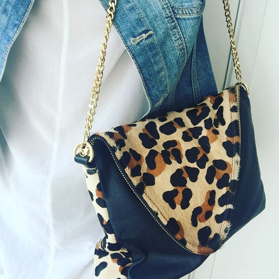 """City"" bag Leopard"