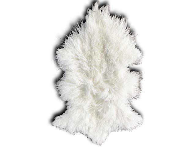Tibetan Sheepskin White