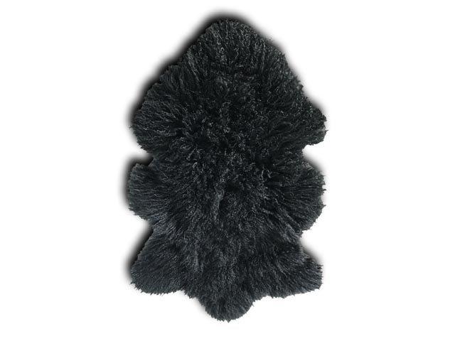 Tibetan Sheepskin Black