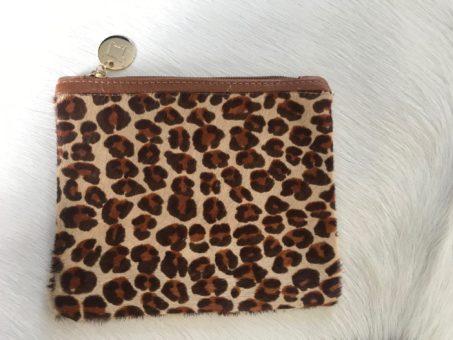 Mini Leopard Clutch