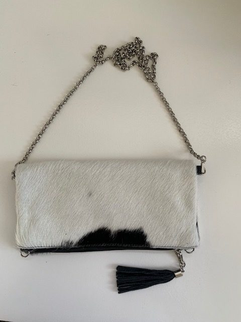 X-body Clutch BLACK/WHITE